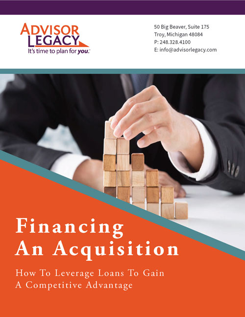 Financing an Acqusition