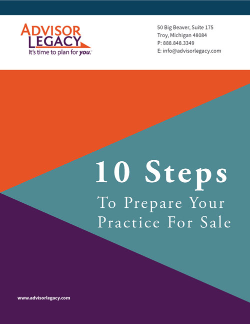 Prepare to Sell Your practice